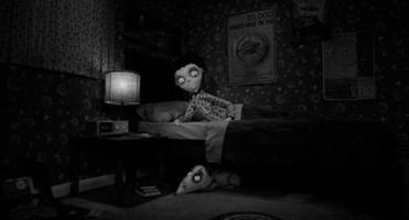 "Victor and his dog Sparky in ""Frankenweenie."""